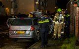 5 november Wederom auto verwoest door brand Goudsbloemstraat