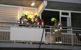 23 november Flinke rookontwikkeling bij woningbrand Bachplein Schiedam