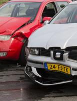 2 april Flinke schade na botsing Schiedam