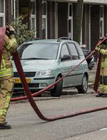 28 februari Flinke brand in woning Schiedam