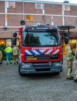 10 november Seniorencomplex ontruimd na brand Churchillsingel Vlaardingen