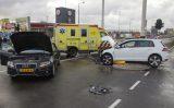 9 december Twee gewonden bij forse aanrijding Mr. L.A. Kesperweg Vlaardingen