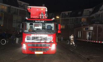 30 december Brand in kelderbox Penseel Capelle aan den IJssel