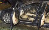 6 februari Auto in brand na harde knal Vlaardingen