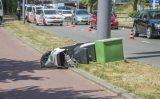 21 juni Scooterrijder zwaargewond na aanrijding Tjalklaan Rotterdam
