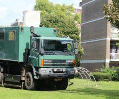 20 september Gasleiding geraakt bij werkzaamheden Mgr. Nolenslaan Schiedam