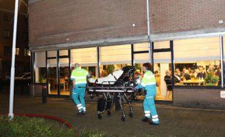 8 november Grote brand in verzorgingstehuis Weteringstraat Rotterdam