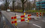 13 december Weg afgesloten na gaslek Arij Koplaan Vlaardingen