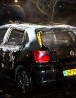 9 maart Personenauto brand uit Luxemburgweg Vlaardingen