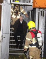 28 januari Uitslaande brand in kelderbox van flatgebouw Sparrendal Maassluis