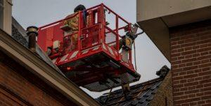 22 november Brand in binnenstad laait weer op Wijnstraat Vlaardingen