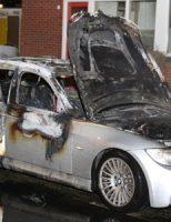 8 januari Auto in brand gestoken Meeuwenstraat Vlaardingen