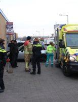 2 maart Auto vat vlam na laswerkzaamheden Fultonstraat Vlaardingen
