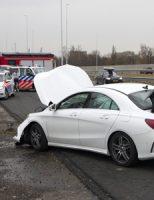 4 maart Veel schade bij eenzijdig ongeval A4 Schiedam