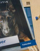 16 mei Drukte bij weggeefactie Bumper kalenders Schiedam