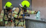16 mei Veel rook bij brand in containerruimte Bachplein Schiedam