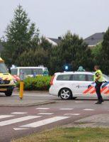 24 mei Traumahelikopter voor onwelwording Gaardenpad Schiedam
