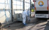 19 juli Container doorzocht naar sporen schietpartij Vlaardingen & Schiedam