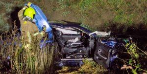 29 augustus Inzittende zwaargewond bij ongeval Deltaweg Vlaardingen