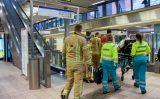 14 september Man valt met scootmobiel op metrorails station Schiedam Centrum