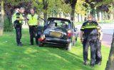 6 oktober Auto botst tegen boom Beukelsweg Rotterdam
