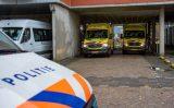 2 december Grote waterlekkage in revalidatiecentrum De State Rotterdam