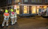 27 oktober Groot gat in de stoep na waterlekkage Collhavenstraat Rotterdam