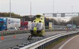 9 november Man gewond na eenzijdig ongeval A4 Vlaardingen