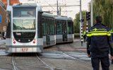 18 oktober Tram op 2 sporen tegelijk na ontsporing Breeplein Rotterdam