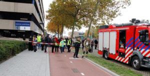 4 november Zadkine College ontruimd om vreemde lucht Marconistraat Rotterdam