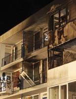 18 februari Meerdere gewonden na explosie flatwoning Ridderkerk