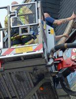 24 augustus Brand door werkzaamheden Fultonstraat Den Haag