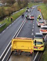 11 november Drie gewonden bij errnstige aanrijding N206 Ingenieur G. Tjalmaweg Katwijk