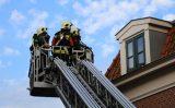 23 juni Sigaret veroorzaakt brand op dakterras Kleiweg Gouda