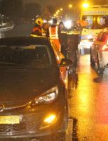 22 februari Automobilist belandt in het water Middel Broekweg Honselersdijk