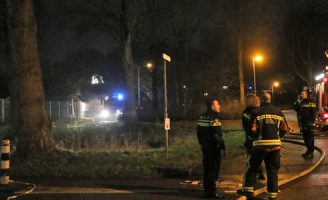 30 december Flinke brand bij Goudse atletiekvereniging Groene Zoom Gouda