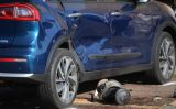 19 april Flinke schade bij ongeval met twee voertuigen Schokkerweg Den Haag